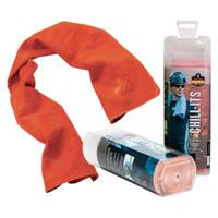 Ergodyne Chill-Its 6602  Orange Evaporative Cooling Towel