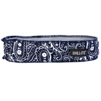 Ergodyne Chill-Its 6605  Navy Western High-Performance Headband