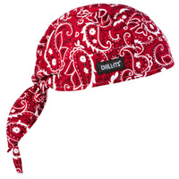 Ergodyne Chill-Its 6615  Red Western High-Performance Dew Rag