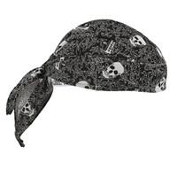 Ergodyne Chill-Its 6615  Skulls High-Performance Dew Rag