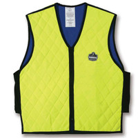 Ergodyne Chill-Its 6665 XL Lime Evaporative Cooling Vest