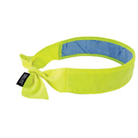 Ergodyne Chill-Its 6700CT  Lime Evap. Cooling Bandana w/CT - Tie