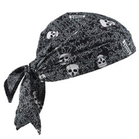Ergodyne Chill-Its 6710  Skulls Evaporative Cooling Triangle Hat