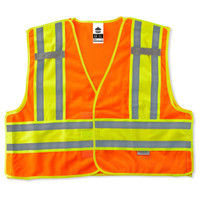 Ergodyne GloWear 8245PSV 4XL/5XL Orange Type P Class 2 Public Safety Vest