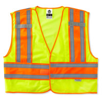Ergodyne GloWear 8245PSV S/M Lime Type P Class 2 Public Safety Vest