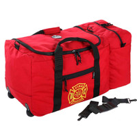 Ergodyne Arsenal GB5005W  Red Wheeled Fire & Rescue Gear Bag