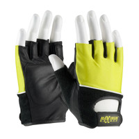 PIP Maximum Safety Lifting Gloves with Reinforced Padded Leather Palm - 122-AV70