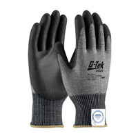 PIP G-Tek Seamless Knit Dyneema® Diamond Blended Glove with Polyurethane Coated Smooth Grip on Palm & Fingers - 19-D326