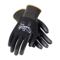 PIP G-Tek Heavy Weight Seamless Knit Nylon Glove with Extra Thick Polyurethane Coated Smooth Grip on Palm & Fingers - 33-325