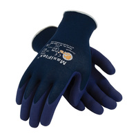 PIP ATG Ultra Light Weight Seamless Knit Nylon Glove with Nitrile Coated MicroFoam Grip on Palm & Fingers - 34-274