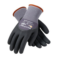 PIP ATG Seamless Knit Nylon / Lycra Glove with Nitrile Coated MicroFoam Grip on Palm, Fingers & Knuckles - 34-875
