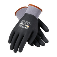 PIP ATG Seamless Knit Nylon / Lycra Glove with Nitrile Coated MicroFoam Grip on Full Hand - 34-876
