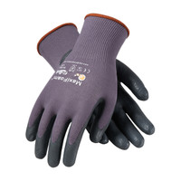 PIP ATG Seamless Knit Nylon Glove with Nitrile Coated Foam Grip on Palm & Fingers - 34-900
