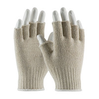 PIP  Medium Weight Seamless Knit Cotton / Polyester Glove - Half-Finger - 35-C119
