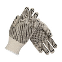PIP PIP® Seamless Knit Cotton / Polyester Glove with Double-Sided PVC Dot Grip - Heavy Weight - 36-C330PDD