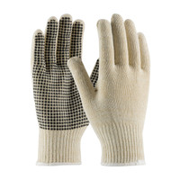PIP PIP® Seamless Knit Cotton / Polyester Glove with PVC Dot Grip - 10 Gauge - 37-C2110PD