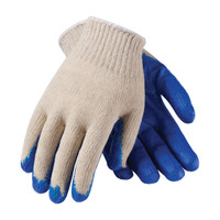 PIP PIP® Seamless Knit Cotton / Polyester Glove with Latex Coated Smooth Grip on Palm & Fingers - Economy Grade - 39-C120