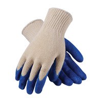 PIP PIP® Seamless Knit Cotton / Polyester Glove with Latex Coated Smooth Grip on Palm & Fingers - Regular Grade - 39-C122