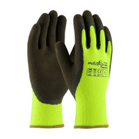 PIP PowerGrab™ Thermo Hi-Vis Seamless Knit Acrylic Terry Glove with Latex MicroFinish Grip on Palm & Fingers - 41-1405