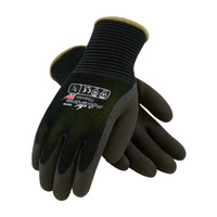 PIP PowerGrab™ Thermo Seamless Knit Nylon Glove with Hi-Vis Acrylic Liner and Latex MicroFinish Grip on Palm & Fingers - 41-1430