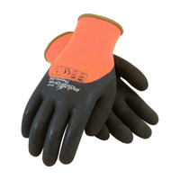 PIP PowerGrab™ Thermo Hi-Vis Seamless Knit Acrylic Terry Glove with Latex MicroFinish Grip on Palm, Fingers & Knuckles - 41-1475