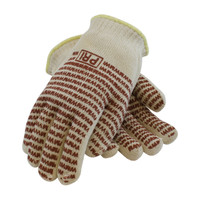 PIP PIP® Double-Layered Cotton Seamless Knit Hot Mill Glove with Double-Sided EverGrip™ Nitrile Coating - 24 oz - 43-502