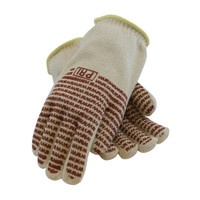 PIP  Double-Layered Cotton Seamless Knit Hot Mill Glove with Double-Sided EverGrip™ Nitrile Coating - 32 oz - 43-802
