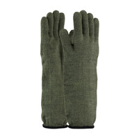 PIP Kut Gard Kevlar® / Preox Seamless Knit Hot Mill Glove with Cotton Liner - Extended Cuff - 43-858