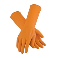 PIP Assurance Extra Long Unsupported Latex, Unlined with Roughened Sandblast Grip - 18 Mil - 47-L210T