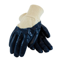 PIP ArmorGrip® Nitrile Dipped Glove with Terry Cloth Liner and Heavy Weight Rough Grip on Palm, Fingers & Knuckles - Knitwrist - 56-3143