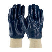 PIP ArmorTuff® Nitrile Dipped Glove with Jersey Liner and Smooth Finish on Full Hand - Knitwrist - 56-3152