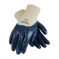 PIP ArmorLite® Nitrile Dipped Glove with Interlock Liner and Textured Finish on Palm, Fingers & Knuckles - Knitwrist - 56-3170