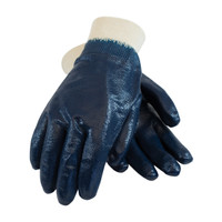 PIP ArmorLite® Nitrile Dipped Glove with Interlock Liner and Textured Finish on Full Hand - Knitwrist - 56-3171
