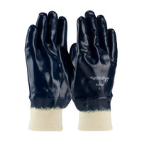 PIP ArmorTuff® XT Nitrile Dipped Glove with Jersey Liner and Smooth Finish on Full Hand - Knitwrist - 56-3186