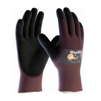 PIP ATG Ultra Lightweight Nitrile Glove, 3/4 Dipped with Seamless Knit Nylon / Lycra Liner and Non-Slip Grip on Palm & Fingers - 56-425