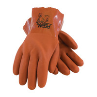 "PIP PermFlex® Cold Resistant PVC Glove with Seamless Liner and Rough Coating - 10"" - 58-8650"