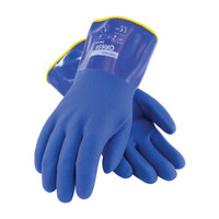 "PIP ProCoat® Cold Resistant PVC Glove with Detachable Terry Liner and Sandy Finish - 12"" - 58-8658DL"