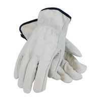 PIP PIP® Regular Grade Top Grain Cowhide Leather Drivers Glove - Straight Thumb - 68-103