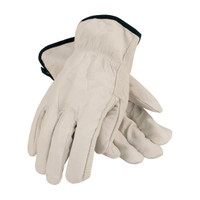 PIP PIP® Economy Grade Top Grain Cowhide Leather Drivers Glove - Straight Thumb - 68-105