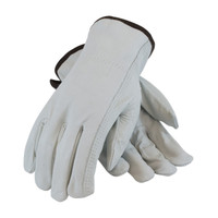 PIP PIP® Regular Grade Top Grain Cowhide Leather Drivers Glove - Keystone Thumb - 68-163