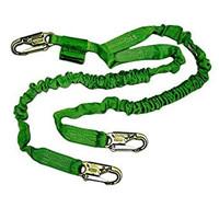 Miller 6 ft. Manyard II Double Leg Lanyard w/3 Locking Snap Hooks - 232M/6FTGN
