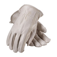 PIP PIP® Premium Grade Top Grain Cowhide Leather Drivers Glove - Keystone Thumb - 68-168
