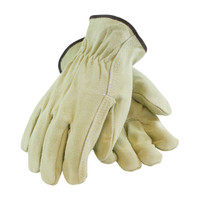 PIP  Regular Grade Split Cowhide Leather Drivers Glove - Straight Thumb - 69-134