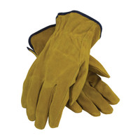 PIP  Regular Grade Split Cowhide Leather Drivers Glove - Straight Thumb - 69-138
