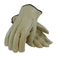 PIP PIP® Economy Grade Top Grain Pigskin Leather Drivers Glove - Straight Thumb - 70-301