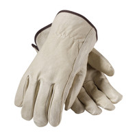 PIP  Economy Grade Top Grain Pigskin Leather Drivers Glove - Keystone Thumb - 70-361