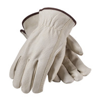 PIP  Premium Grade Top Grain Pigskin Leather Drivers Glove - Keystone Thumb - 70-368