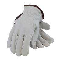 PIP PIP® Industry Grade Top Grain Goatskin Leather Drivers Glove - Keystone Thumb - 71-3600