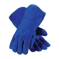 PIP Blue Bison™ Select Shoulder Split Cowhide Leather Welder's Glove with Cotton Liner and Kevlar® Stitching - 73-7007