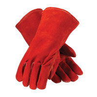PIP Red Viper™ Select Shoulder Split Cowhide Leather Welder's Glove with Cotton Liner and Kevlar® Stitching - 73-7015